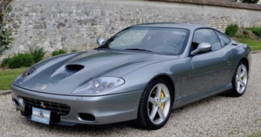Carte grise Ferrari 575, prix et démarche